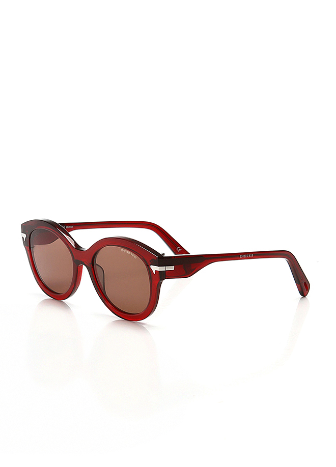 Women's sunglasses gs 611s 619 bone red organic oval aval 52-19-145g-star raw