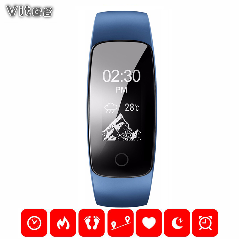 Smart Watch Smart Wrist band Bracelet Heart Rate Monitor Answer Call Push Message Alarm Clock Fitness Tracker For IOS Android image