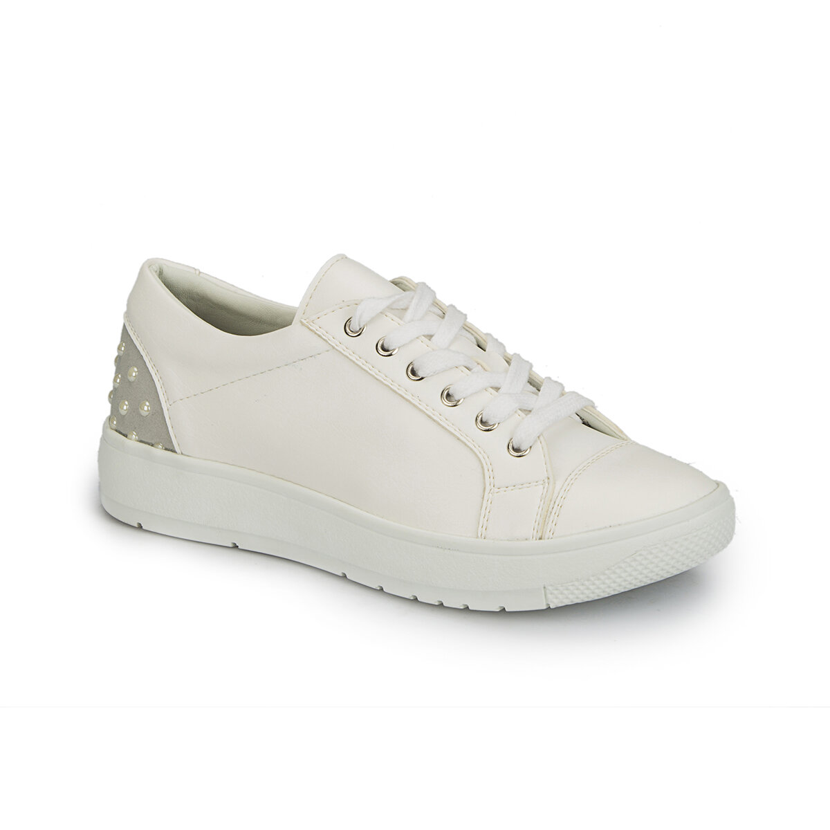 FLO 81.311411.Z White Women 'S Sneaker Shoes Polaris