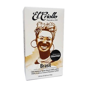 Cafe El criollo BRASIL , 250g ground coffee selection Gourmet
