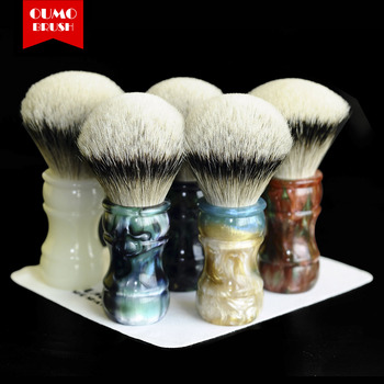 OUMO cepillo-2019/9/18 los guerreros de terracota brocha de afeitar con el desarrollo humano sostenible APM brocha de gel de 26MM28MM