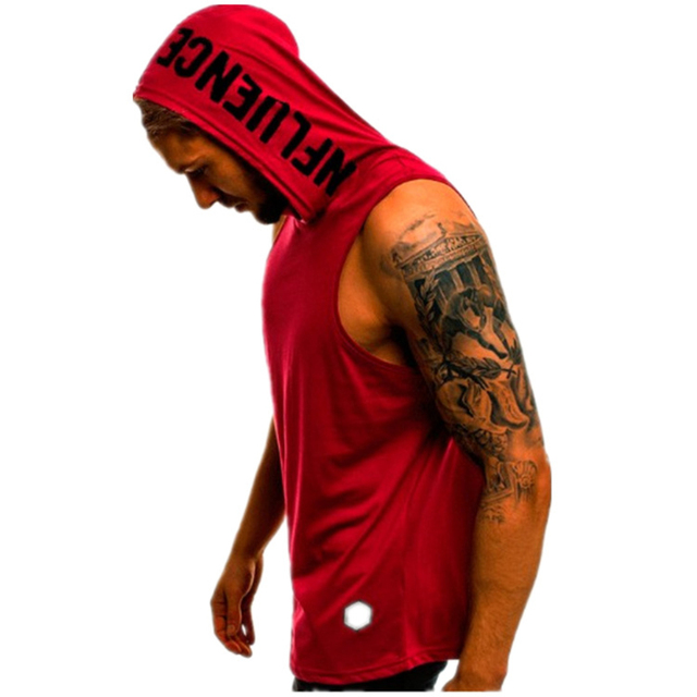 Workout Hooded Tank Top Stylish Hoodies Unisex size: L|M|S|XL|XXL