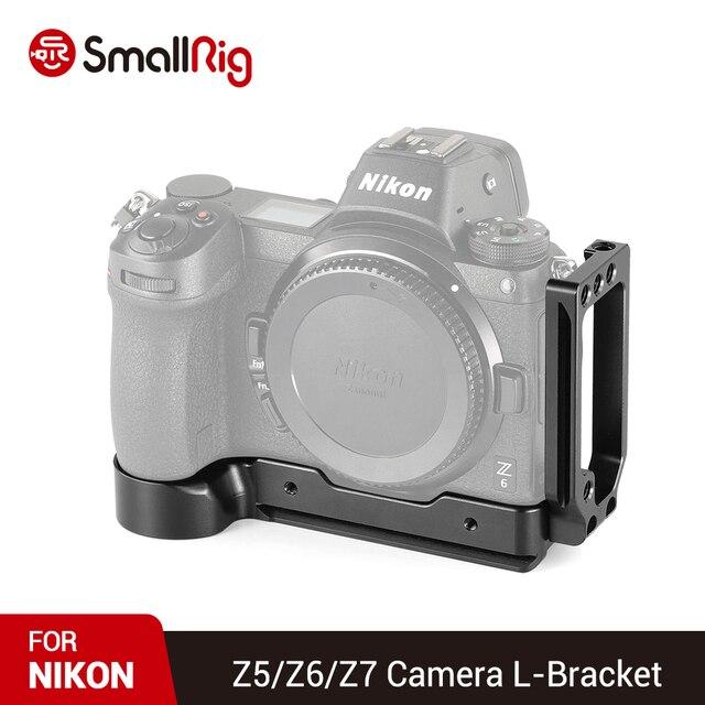 SmallRig DSLR מצלמה Z6 L צלחת שחרור מהיר L סוגר עבור ניקון Z6 ועבור Nikon Z7 מצלמה עם arca Stlye צלחת 2258