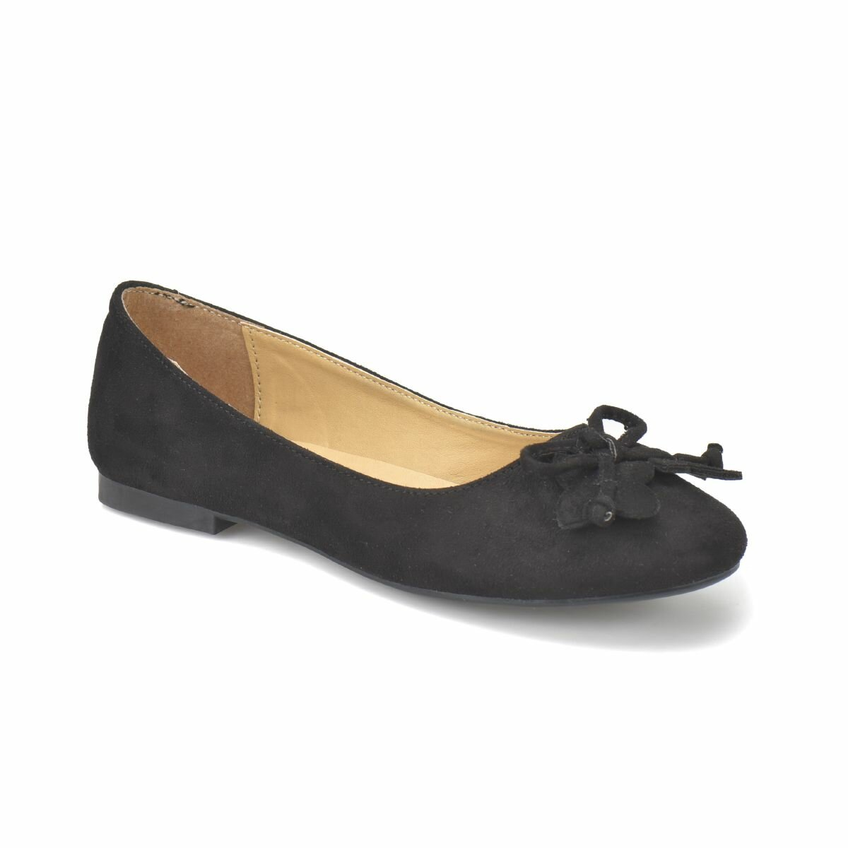 FLO DS18012 Black Women Ballerina Miss F|Women's Flats| |  - title=