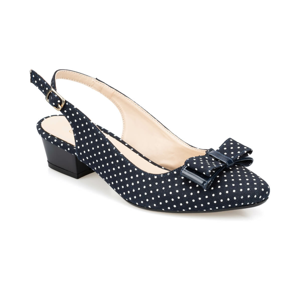 FLO 91.311134.Z Navy Blue Women Gova Shoes Polaris