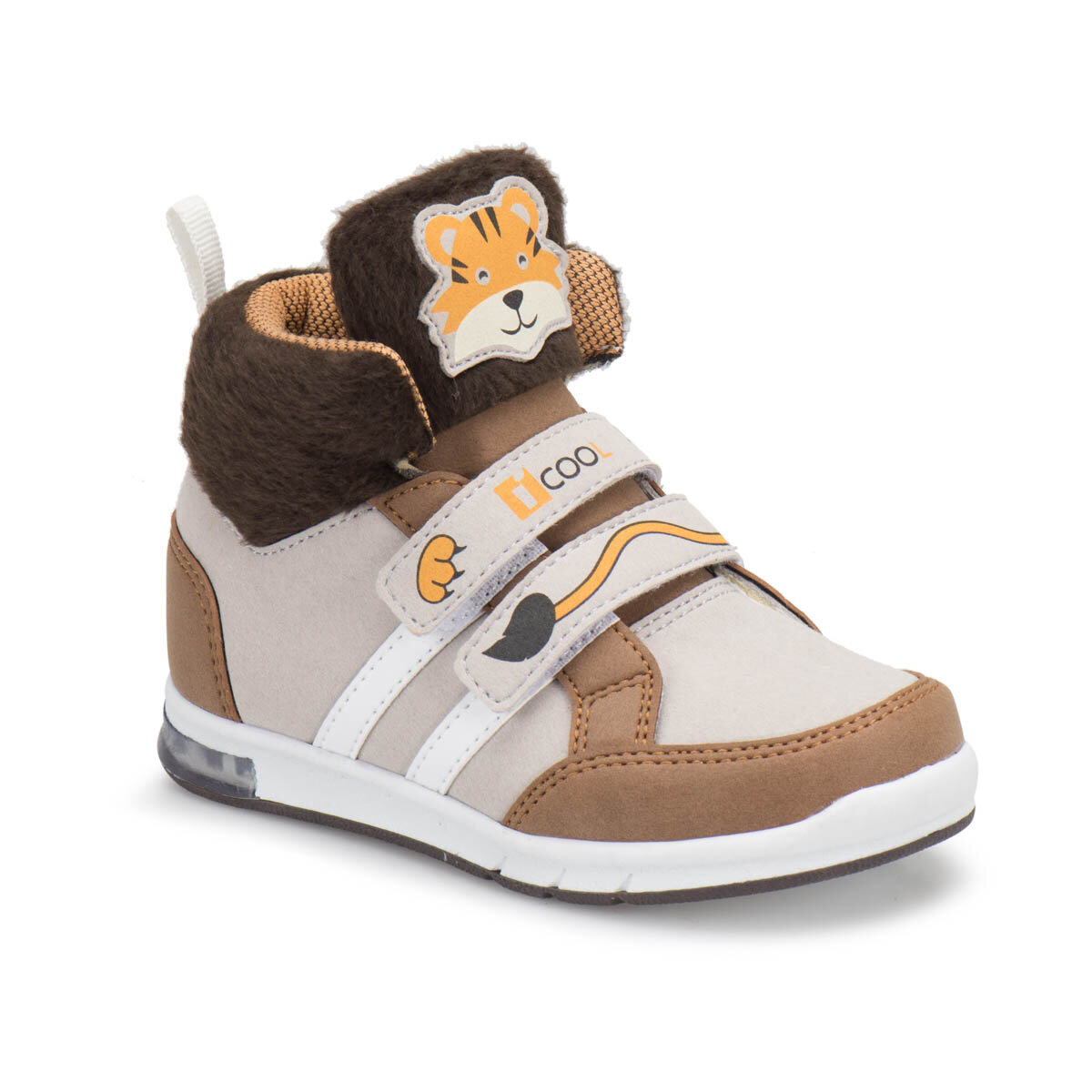 FLO KEDDY Brown Male Child Sneaker Shoes I-Cool
