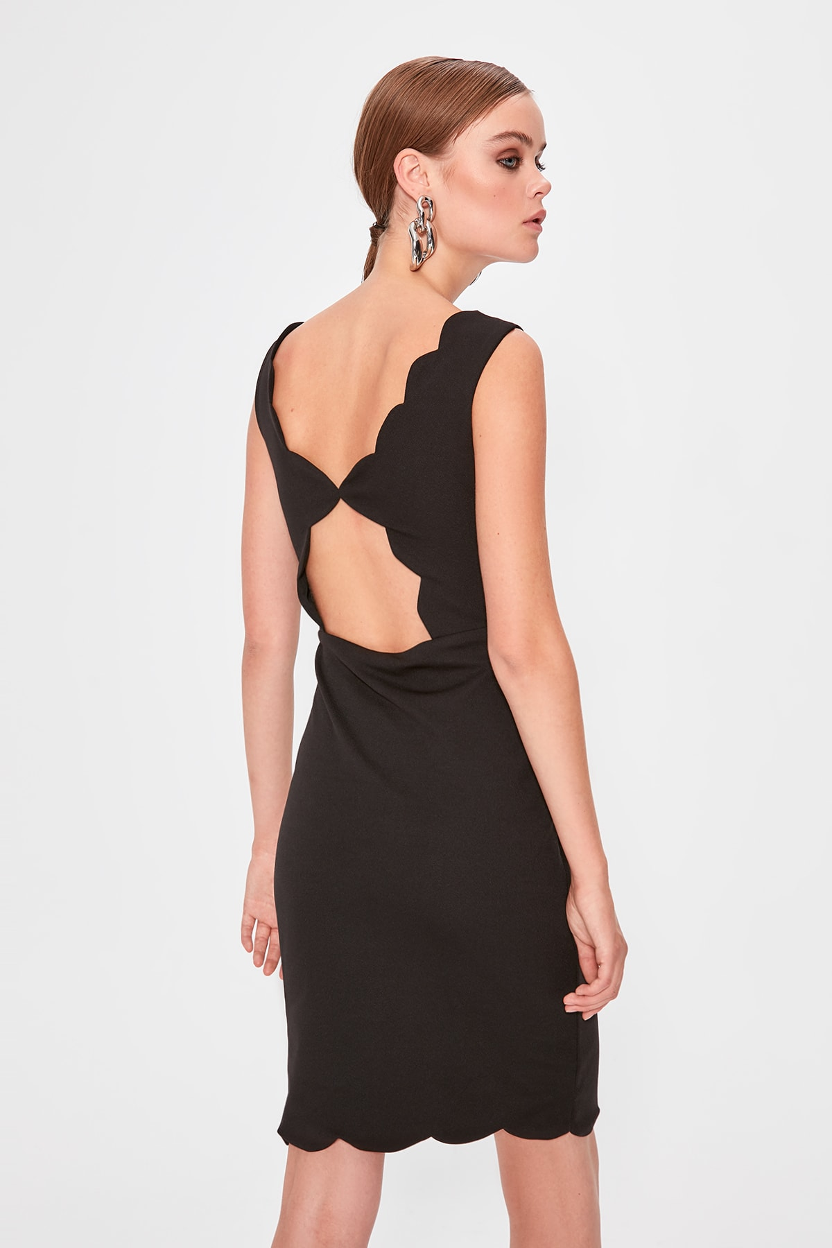 Trendyol Back Low-Cut Detail Dress TPRAW20EL1772