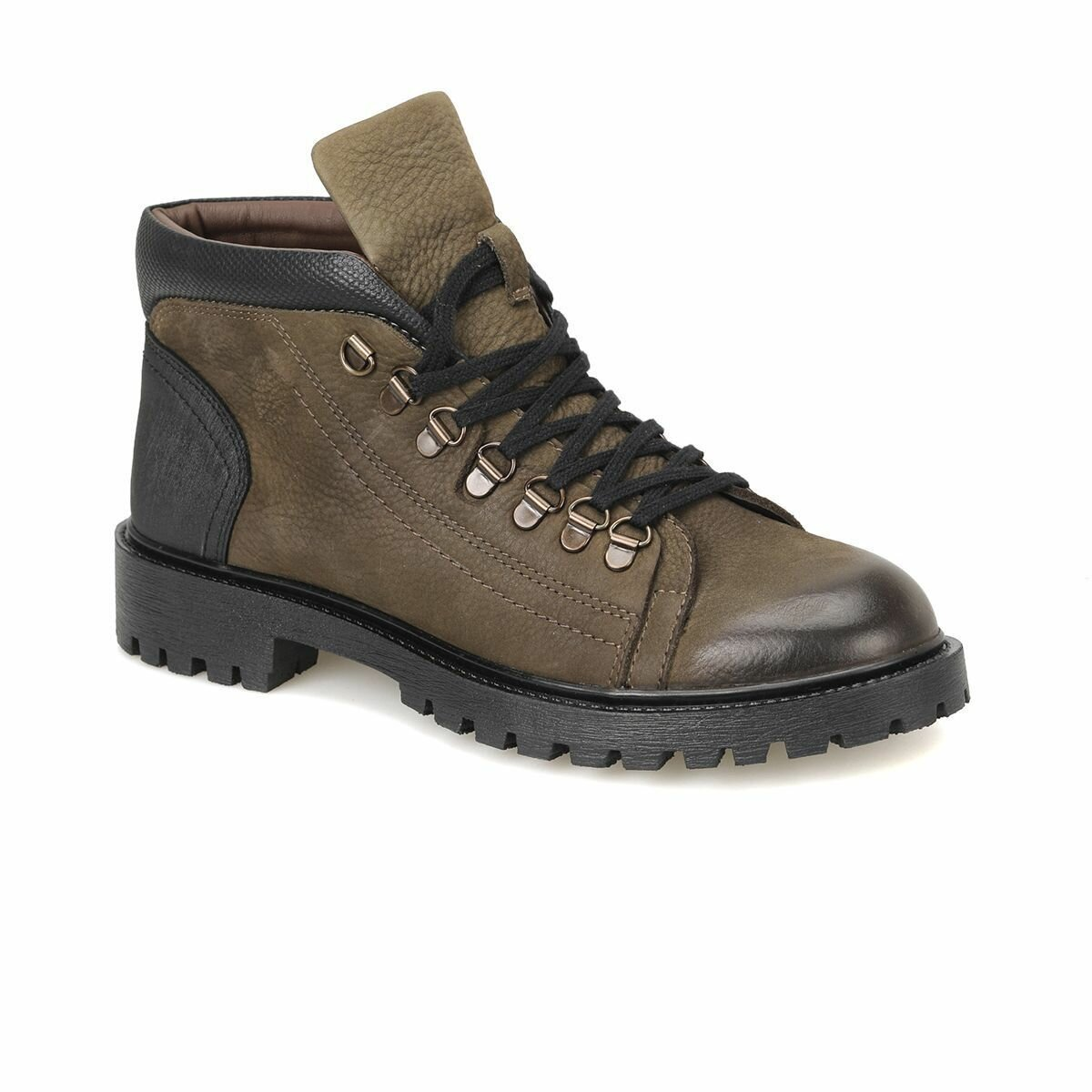 FLO 146-A Khaki Male Boots Forester