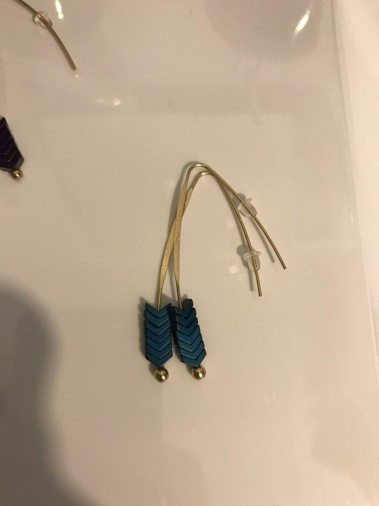 Boucles d'Oreilles Pendantes Originales - ARAMIS