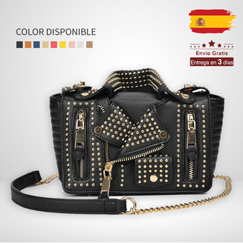 Women small crossbody bag women jacket bag women shoulder bags with flap and rivets solid PU luxury famous brand design  T10308 цена 2017