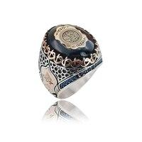 Silver Ring Silver Men Ring Arabic Ring Art Design Silver Ring 925 Sterling Silver