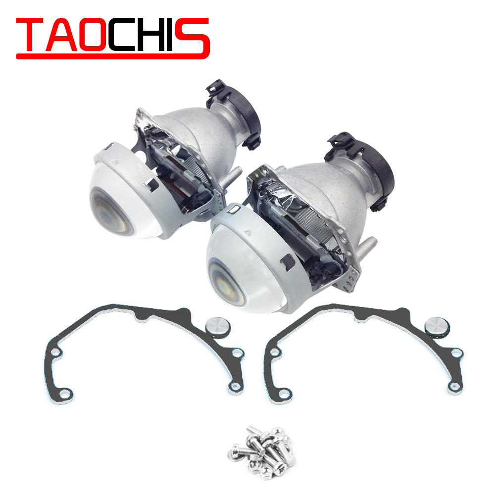 TAOCHIS Car Styling Transition Frame Adapter Hella 3R G5 Projector Lens Retrofit Bracket For MAZDA CX-7 2006 - 2012