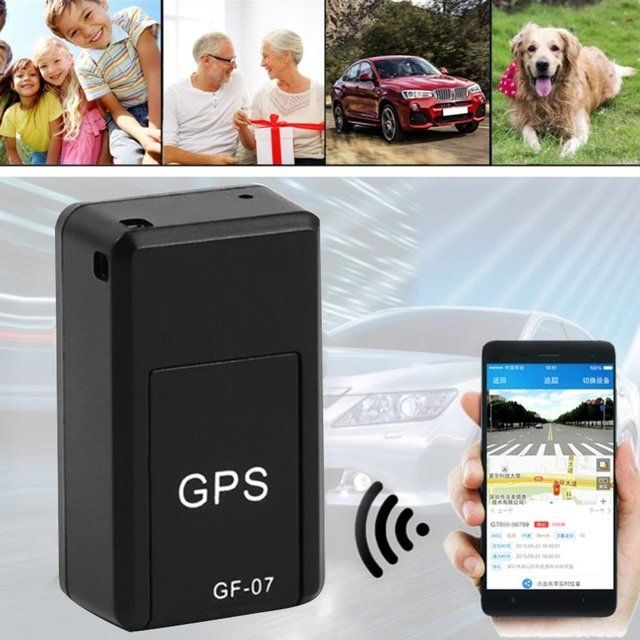 GF07 Magnetic Mini Car Tracker GPS Real Time Tracking Locator Device Magnetic GPS Tracker Real-time Vehicle Locator Dropshipping 6