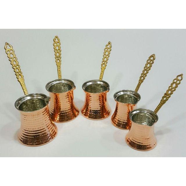Hand Hammered Ibrik Turkish Coffee Pot 2