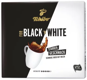 Tchibo Black'N White Ground Filter Coffee 2X250g
