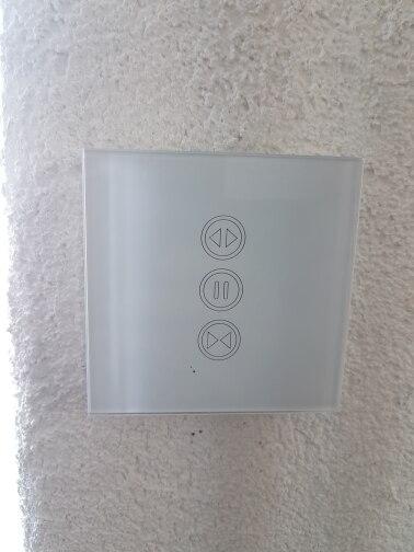 Sistema automático de controle de cortina Inteligente Inteligente Inteligente