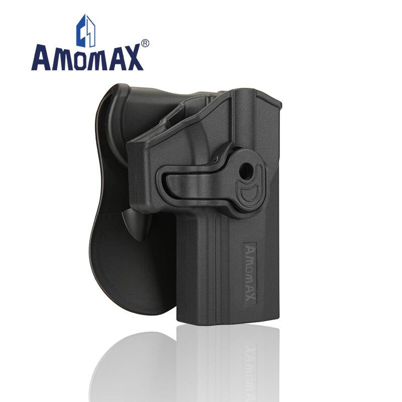 Diário do Transporte o Coldre do Polímero da Salvaguarda do Nível 2 de Amomax M18 para o Tiro Encaixa Sauer Carrega se Sig P320