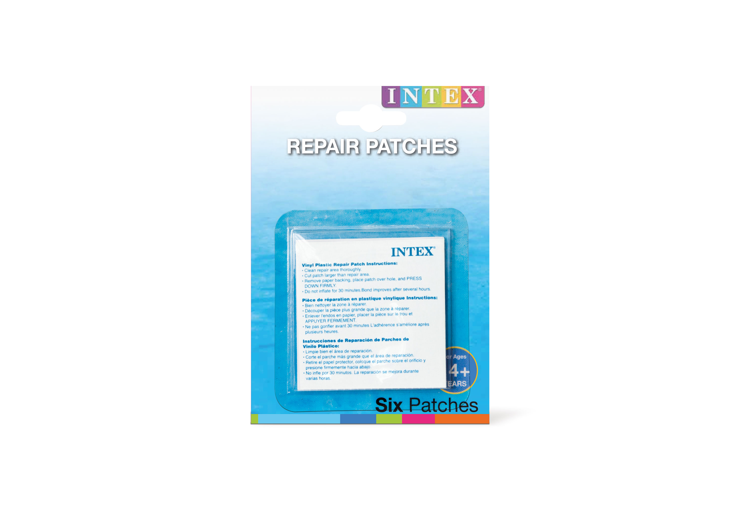 Repair Kit With Self-adhesive заплаткой For Inflatable Products, Intex, Item No. 59631