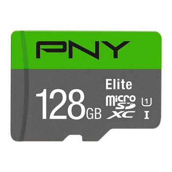 Micro SD Memory Card with Adaptor PNY Elite C10