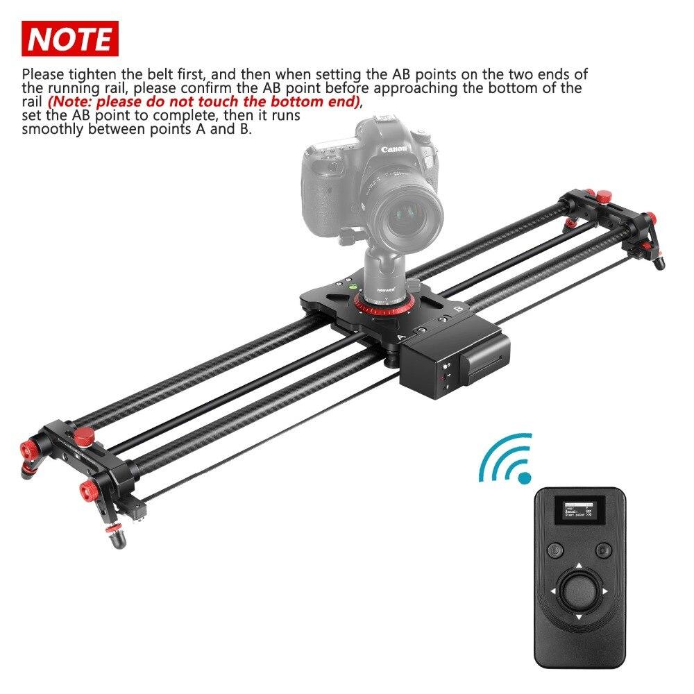 Neewer motorizado câmera slider, trilho de trilha