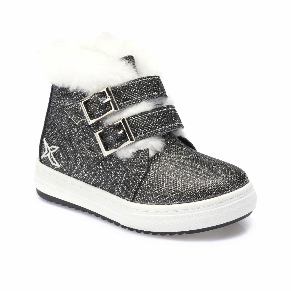 FLO HOLA Gray Female Child Boots KINETIX