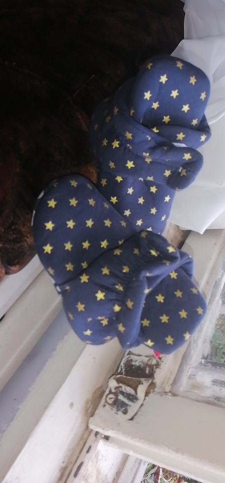 Newborn Baby Socks Shoes Boy Girl Star Toddler First Walkers Booties Cotton Comfort Soft Anti-slip Warm Infant Crib Shoes photo review