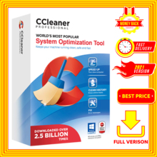 CCleaner - Professional Plus 5 | Full Version | For Windows 32/64x bits | Latest Version 2021