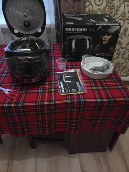 Multivarka REDMOND RMC M902 Multivark multicooker Household appliances for kitchen|Multicookers|   - AliExpress