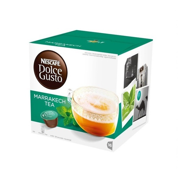 Coffee Capsules Nescafé Dolce Gusto 55290 Marrakesh Style Tea (16 Uds)