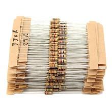 150 резисторы 3 значения 220 Ом 1 кОм 10 кОм 1% 0,25 Вт 1/4W
