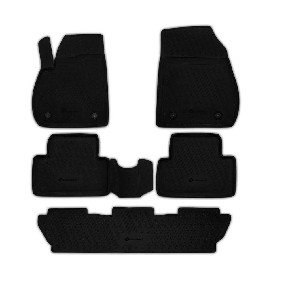 Floor Mats For OPEL Zafira 2012-7 Seats. CAROPL00027