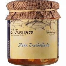 Tuna Ventresca jar encased with olive oil 250 grams | Fish preserves El Ronqueo | gourmet preserves