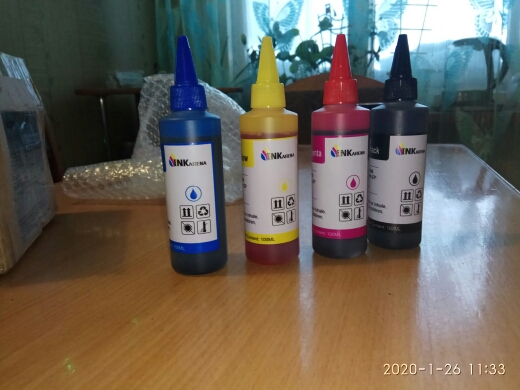 Dye Ink For EPSON Printers Premium 100ML 4 Color Ink BK C M Y for Epson Stylus TX106 TX109 TX117 TX119 C51 C91 CX4300 printer|dye ink|ink for epsoncolor ink - AliExpress